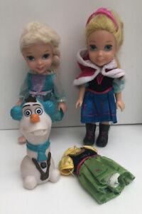 Disney Princess Petite Frozen Playset (Annia & Elsia And Friends)