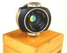 Janpol Color 5.6/80mm PZO Lens M42 4 filters Poland Enlarger w/ box GOOD