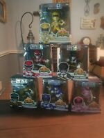Metals Die Cast Mighty Morphin Power Rangers Lot Of 6