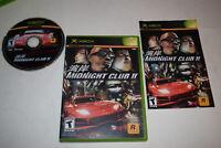 Midnight Club II Microsoft Xbox Video Game Complete
