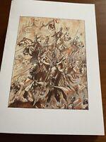 Warhammer Fantasy AOS Blank Greeting Birthday Card Bretonnia Knights