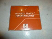 WAMDUE PROJECT - King Of My Castle - 1998 UK 4-track CD single