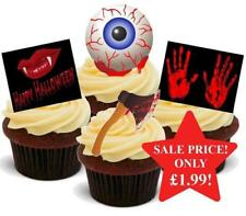 HALLOWEEN Blood Curdling Horror Axe Mix Stand Up Premium Cake Toppers