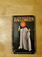 Halloween, first edition, by Curtis Richards, October 1979, bantam paperback