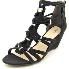 Wedge Synthetic High (3 to 4 1/4) Heel Height Sandals for Women