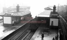 PHOTO  LNER ROTHERHAM (MASBOROUGH) RAILWAY STATION VIEW LOOKING SOUTH FROM THE O