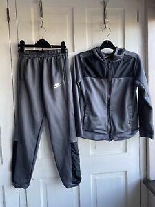 Nike Grey Tracksuit Size Large Age 12-13