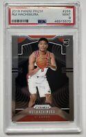Rui Hachinura Panini Prizm Rookie Card #255 PSA 9 Mint RC Washington Wizards