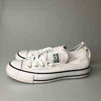 Converse Womens Chuck Taylor All Star 565490F White Black Sneaker Shoes Size 5