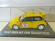 IXO Altaya 1:43 Scale Diecast Seat Ibiza Kit Car Monte Carlo 1999 T.Gardemeister