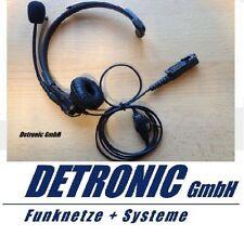 Headset, Kopfhörer einseitig, für Motorola DP3441, DP2400, DP2600