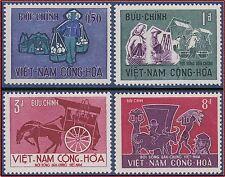 VIETNAM du SUD N°310/313** La vie du peuple,1967 South Viet Nam Sc#307-310 MNH