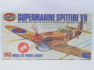 1/48 Airfix Supermarine Spitfire VB WWII RAF Fighter Plastic Model Kit Sealed