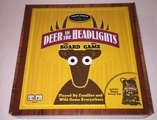 Deer in the Headlights Game by University Games - 2014 Edition - Never Played!