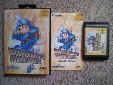 Rocket Knight Adventures  (Sega Genesis, 1993) Complete