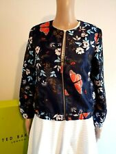 TED BAKER LONDON FLORAL BUTTERFLY JACKET COAT BNWT UK 10 TED 2 US 6 RRP £189.00