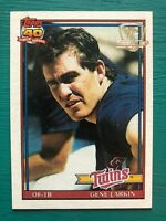 1991 Topps Desert Shield GENE LARKIN Minnesota Twins Rare Baseball Card #102