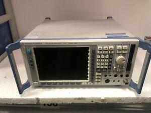 Rohde & Schwarz FSP3 Spectrum Analyzer 9KHz to 3GHz with fresh calibration !!!