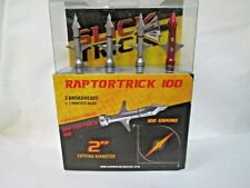 "Slick Trick 2"" RaptorTrick 2-Blade 100G Mechanical Broadhead 3-Pack"