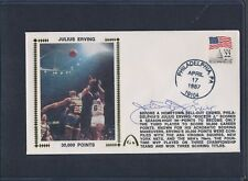Julius Erving Signed First Day Cover Autograph Auto PSA/DNA AD71071