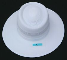 Reo Camelia White Marked Mens Shaped Umpire Summer Hat Sz Small Ex Display (C)