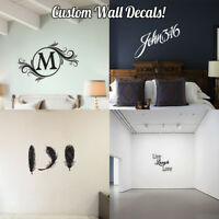 Custom Wall Decal | Personalized | Long-lasting | Removeable