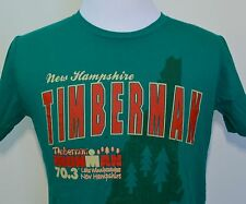 New Hampshire Timberman t-shirt medium green ironman Lake Winnipesaukee
