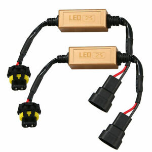9005 HB3 9006 9012 LED Error Canceller Canbus Anti-Flicker Load Resistor Decoder