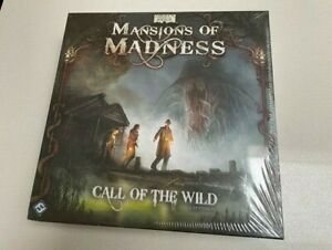 Mansion of Madness Call of the Wild expansion 1st Edition FFG BRAND NEW SEALED