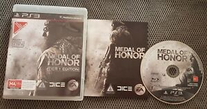 Medal Of Honor Tier 1 Edition PS3 Sony Playstation 3 Free Postage