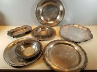 A Lot Of Antique/vintage Silver Plated Items.many Makers Names.