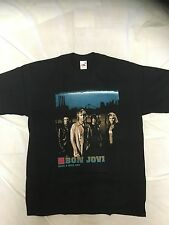Official Licensed Bon Jovi Have a Nice Day Euro Tour 2006 T Shirt M New