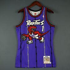 100% Authentic Tracy Mcgrady Mitchell Ness 98 99 Raptors Jersey Size 36 Small S