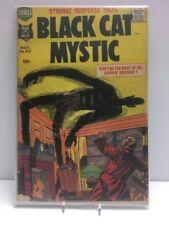 BLACK CAT MYSTIC #60 Black cat Mystery - Jack Kirby, Simon - 1957 comic (GD)