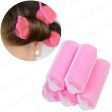 20 x Small Sponge Hair Rollers Tight Curls Waves Styling Cushion Curlers Set