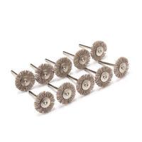 Nylon Abrasive Brushes Accessories Polishing Wheel For Rotary Tools 10Pcs