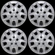 "4 New 2014-16 Grand Caravan 17"" Bolt on Hub Caps Full Rim Covers fit Steel Wheel"