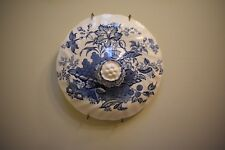 Vintage Porcelain Transferware Tureen Cover