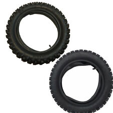 "FRONT 70/100-12 12 inch Knobby Tire + Rear 3.00-10 10"" PIT DIRT BIKE Off-road"