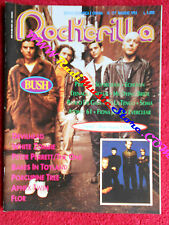rivista ROCKERILLA 177/1995 Bush Gene La Crus Porcupine Tree White Zombie No cd