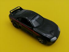 Matchbox 1994 Toyota Supra Turbo 2000 BLACK  WITH RED STRIPES Variation 23 MB271