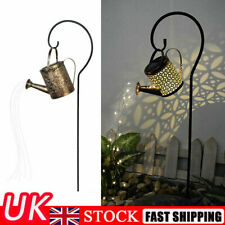 Solar String Powered Decoration Lamp Light Watering Garden Art Outdoor LED Can