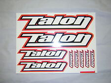 Talon Stickers / Decal Sheet. (9 stickers) , New