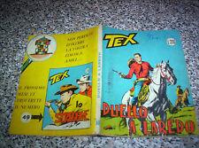 TEX GIGANTE N.48 ORIGINALE 1°EDIZIONE(senza continua)200 lire TIPO ZAGOR ARALDO