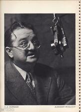 Photogravure  - 1935 -  R.H.Hoffmann - Alexander Woollcott