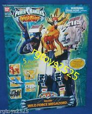 Power Rangers Wild Force Deluxe Wild Force Megazord New FACTORY SEALED 2002