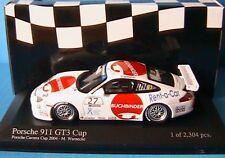 PORSCHE 911 GT3 CUP #27 CARRERA 2004 ARAXA BUCHBINDER MINICHAMPS 400046227 1/43