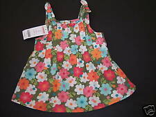 NWT Gymboree Tropical Garden Pleated Floral Tank Top 2T