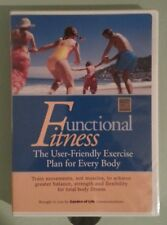 FUNCTIONAL FITNESS the user friendly exercise plan for everybody   DVD NEW