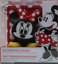 iHome Disney Minnie Mouse Rechargeable Speaker for MP3 Player Smartphones NIB